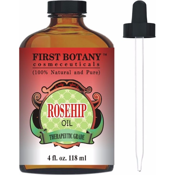 Rose Oil Review - Rosehip Oil Pure Cold Pressed and Organic