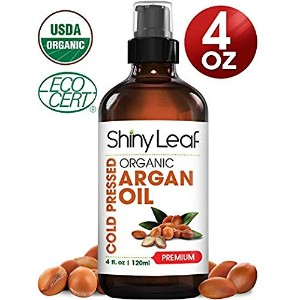 Shiny Leaf Organic Argan Oil