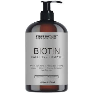 First Botany Cosmeceuticals Biotin Hair Loss Shampoo