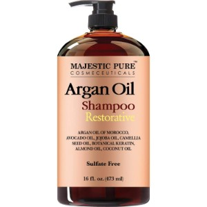 Majestic Pure Cosmeceuticals Argan Oil Shampoo