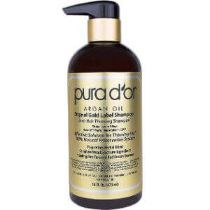 PURA D'OR Argan Oil Anti-Thinning Shampoo
